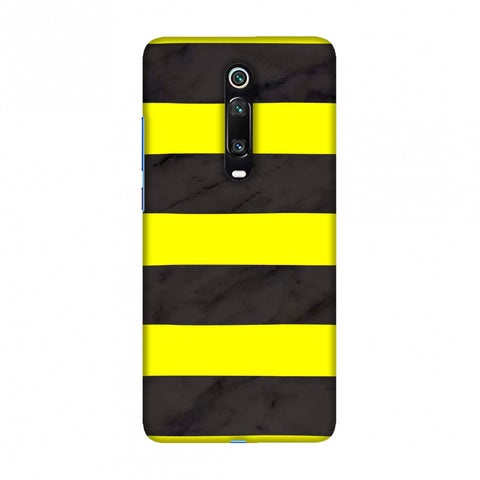 Bees - Marble Stripes - Black Slim Hard Shell Case For Redmi K20/K20 Pro