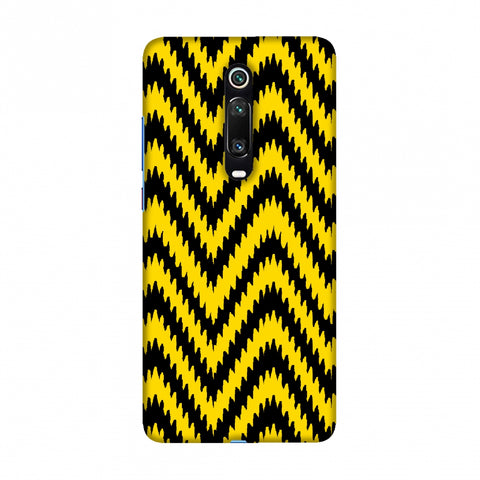 Bees - Zig Zag Chevron Slim Hard Shell Case For Redmi K20/K20 Pro