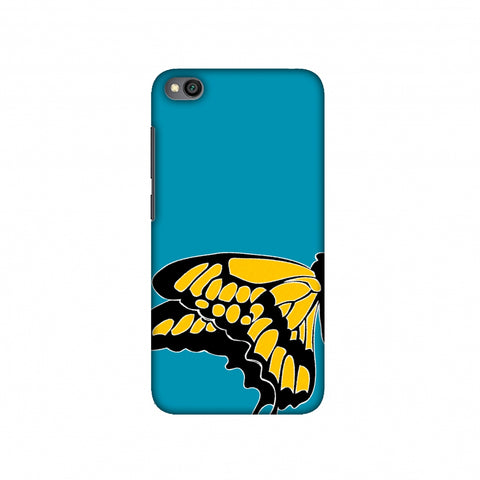 Butterfly - Posterised Slim Hard Shell Case For Redmi Go
