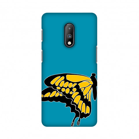 Butterfly - Posterised Slim Hard Shell Case For OnePlus 7