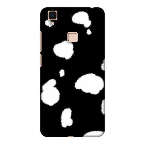 Dalmatian - White Spots Slim Hard Shell Case For Vivo V3 Max