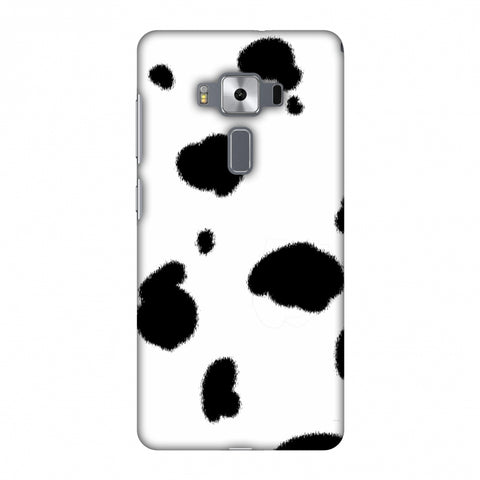 Dalmatian - Black Spots Slim Hard Shell Case For Asus Zenfone 3 Deluxe ZS570KL