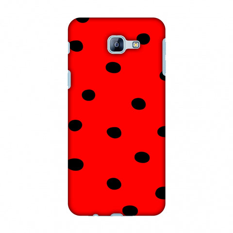 Lady Bug - Red And Black Dots Slim Hard Shell Case For Samsung Galaxy A8 2016