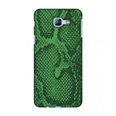 Snakes - Grass Green Skin Slim Hard Shell Case For Samsung Galaxy A8 2016