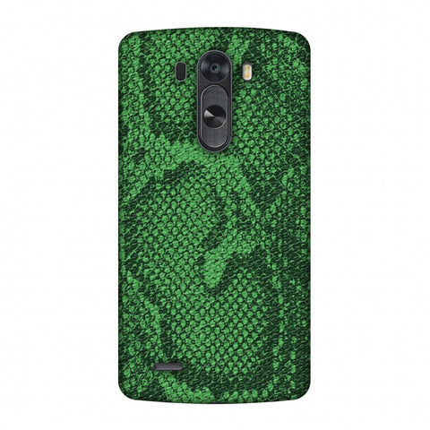 Snakes - Grass Green Skin Slim Hard Shell Case For LG G4