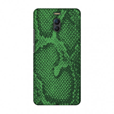 Snakes - Grass Green Skin Slim Hard Shell Case For Meizu Note 6