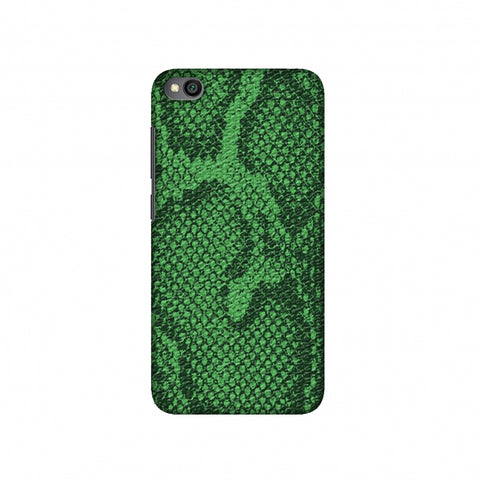 Snakes - Grass Green Skin Slim Hard Shell Case For Redmi Go