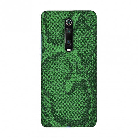 Snakes - Grass Green Skin Slim Hard Shell Case For Redmi K20/K20 Pro