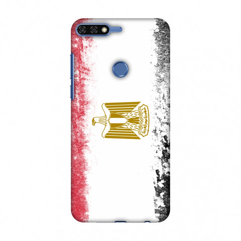 Love For Egypt Slim Hard Shell Case For Huawei Honor 7C