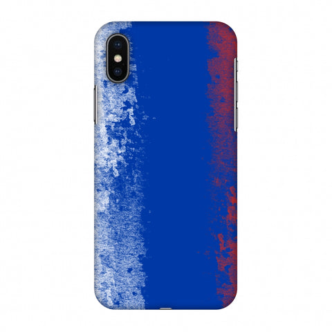 Love For Russia Slim Hard Shell Case For Apple iPhone X