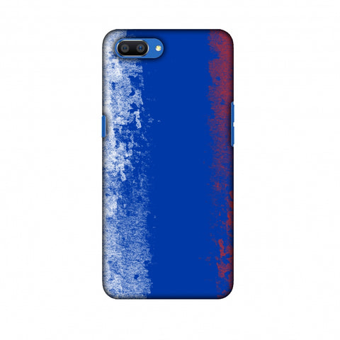 Love For Russia Slim Hard Shell Case For Oppo Realme C1