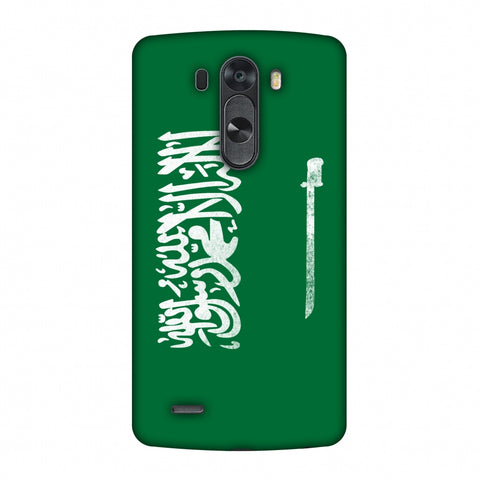 Love For Saudi Arabia Slim Hard Shell Case For LG G4
