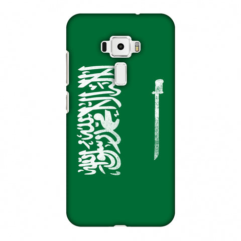 Love For Saudi Arabia Slim Hard Shell Case For Asus Zenfone 3 ZE520KL