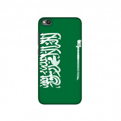 Football - Love For Saudi Arabia Slim Hard Shell Case For Redmi Go