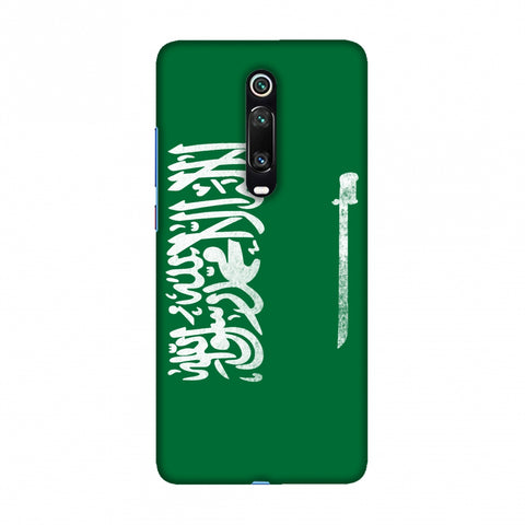 Football - Love For Saudi Arabia Slim Hard Shell Case For Redmi K20/K20 Pro