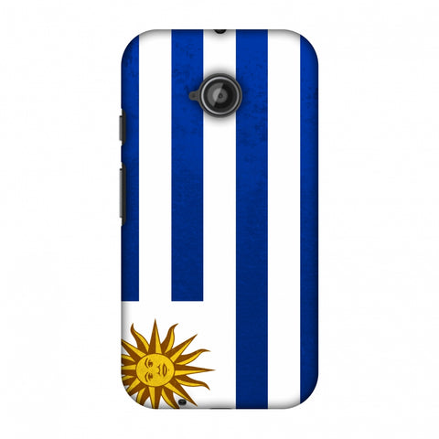 Love For Uruguay Slim Hard Shell Case For Motorola Moto E 2nd Gen