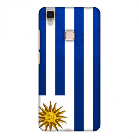 Love For Uruguay Slim Hard Shell Case For Vivo V3 Max