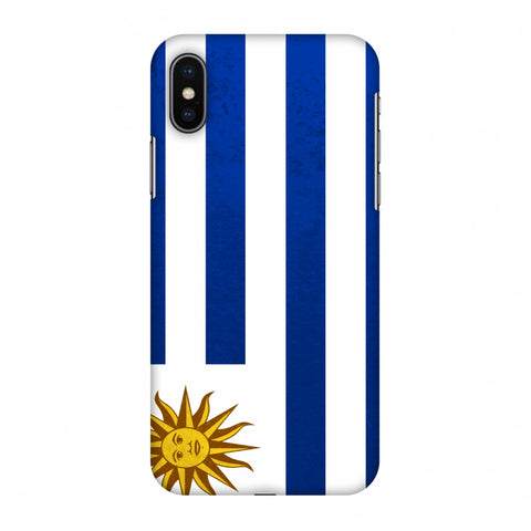 Love For Uruguay Slim Hard Shell Case For Apple iPhone X