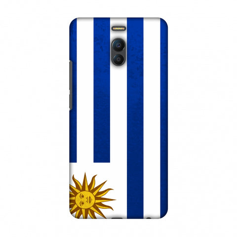 Love For Uruguay Slim Hard Shell Case For Meizu Note 6