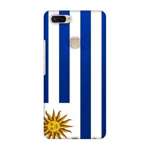 Love For Uruguay Slim Hard Shell Case For Vivo X20 Plus