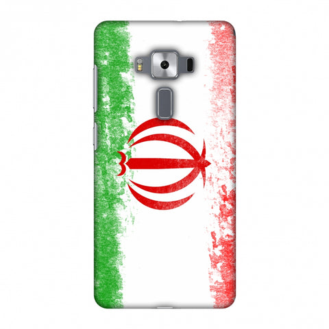 Love For Iran Slim Hard Shell Case For Asus Zenfone 3 Deluxe ZS570KL