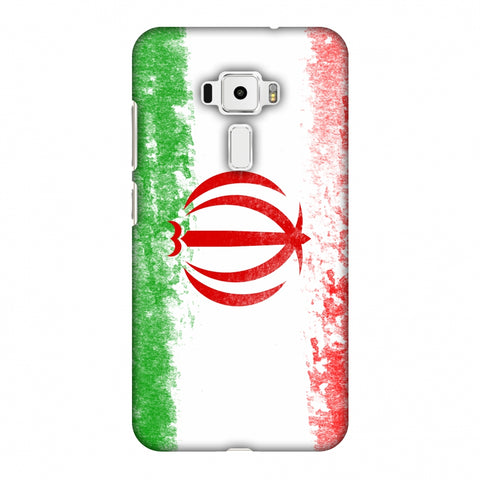 Love For Iran Slim Hard Shell Case For Asus Zenfone 3 ZE520KL