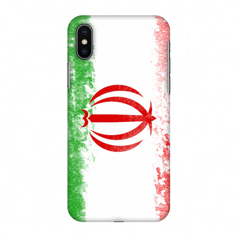 Love For Iran Slim Hard Shell Case For Apple iPhone X