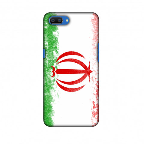Love For Iran Slim Hard Shell Case For Oppo Realme C1