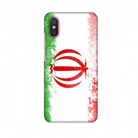 Love For Iran Slim Hard Shell Case For Xiaomi Mi 8 Pro