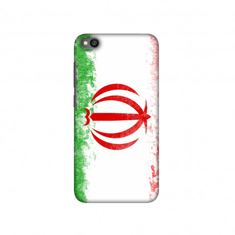 Football - Love For Iran Slim Hard Shell Case For Redmi Go
