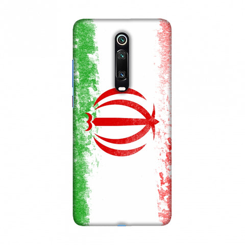 Football - Love For Iran Slim Hard Shell Case For Redmi K20/K20 Pro