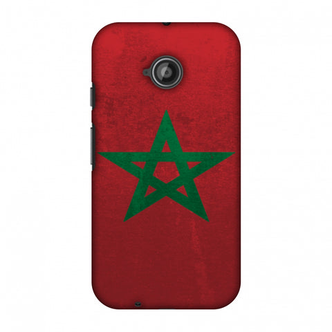 Love For Morocco Slim Hard Shell Case For Motorola Moto E 2nd Gen