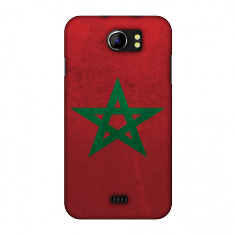 Love For Morocco Slim Hard Shell Case For Micromax Canvas 2 A110