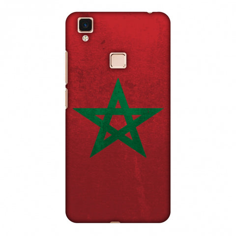 Love For Morocco Slim Hard Shell Case For Vivo V3 Max