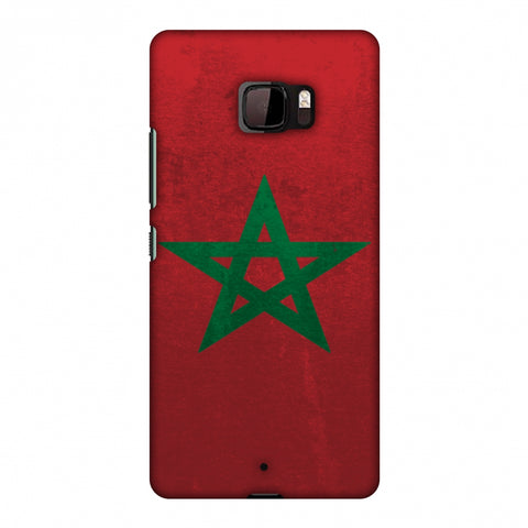 Love For Morocco Slim Hard Shell Case For HTC U Ultra
