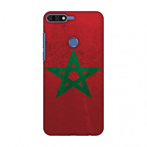 Love For Morocco Slim Hard Shell Case For Huawei Honor 7C