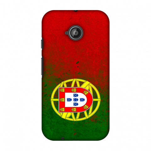 Love For Portugal Slim Hard Shell Case For Motorola Moto E 2nd Gen