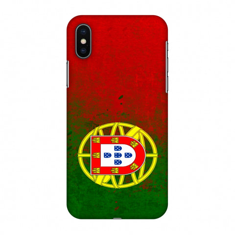 Love For Portugal Slim Hard Shell Case For Apple iPhone X