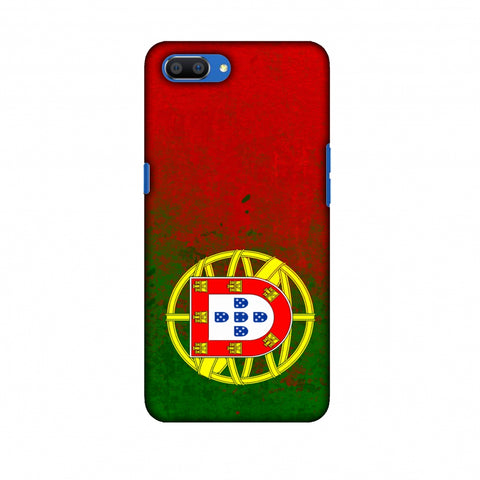 Love For Portugal Slim Hard Shell Case For Oppo Realme C1