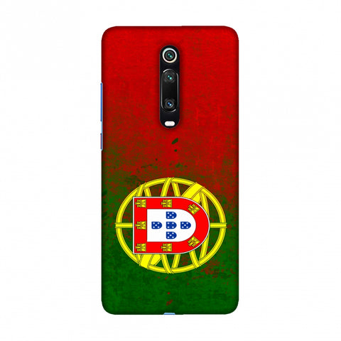 Football - Love For Portugal Slim Hard Shell Case For Redmi K20/K20 Pro