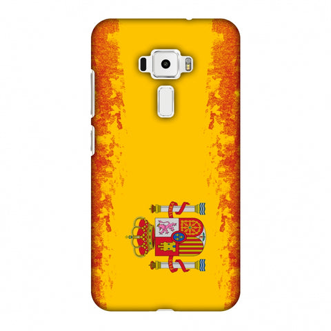 Love For Spain Slim Hard Shell Case For Asus Zenfone 3 ZE520KL