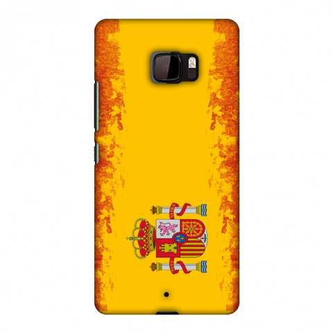 Love For Spain Slim Hard Shell Case For HTC U Ultra