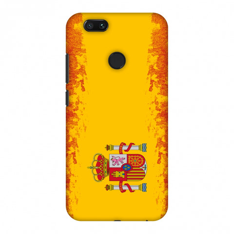 Love For Spain Slim Hard Shell Case For Xiaomi MI A1-5X