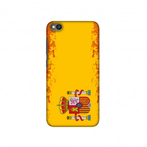 Football - Love For Spain Slim Hard Shell Case For Redmi Go