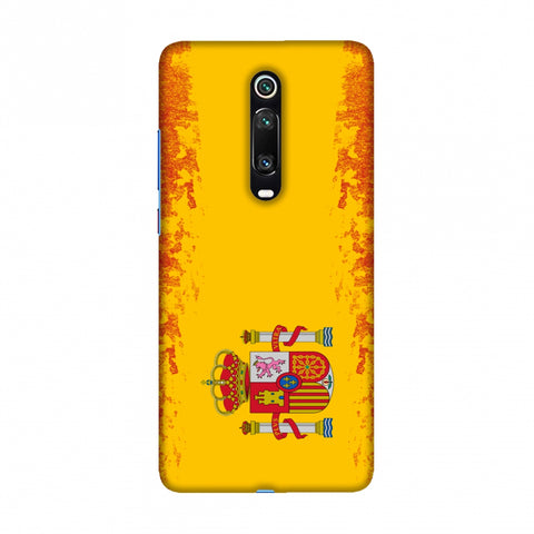 Football - Love For Spain Slim Hard Shell Case For Redmi K20/K20 Pro