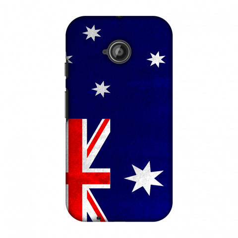 Love For Australia Slim Hard Shell Case For Motorola Moto E 2nd Gen