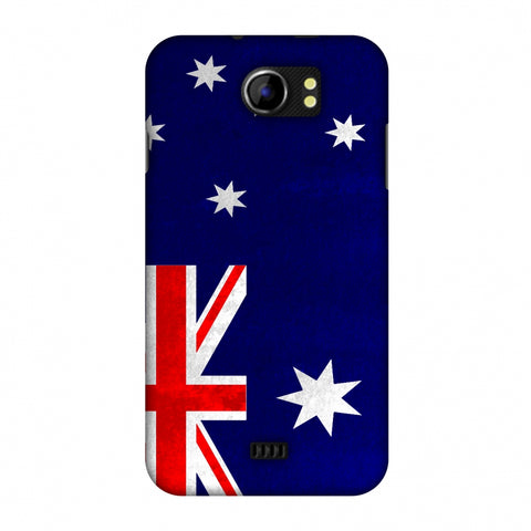 Love For Australia Slim Hard Shell Case For Micromax Canvas 2 A110