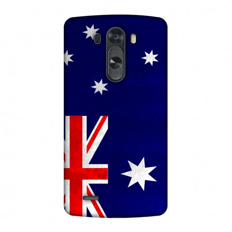 Love For Australia Slim Hard Shell Case For LG G4
