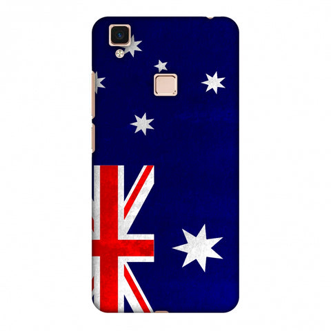 Love For Australia Slim Hard Shell Case For Vivo V3 Max