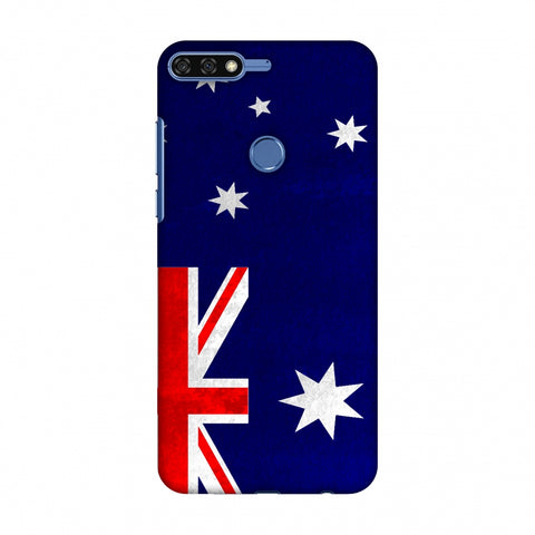 Love For Australia Slim Hard Shell Case For Huawei Honor 7C
